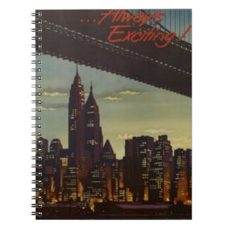 New York Always Exciting Notebooks