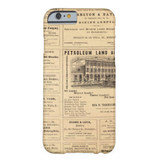 New York and Pennsylvania Oil Advertisements Barely There iPhone 6 Case