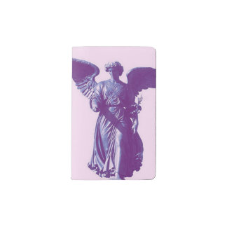 New York Angel Notebook Pocket