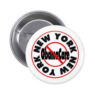New York Anti ObamaCare – November's Coming Pins