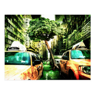 New York Apocalypse End of the World Postcard