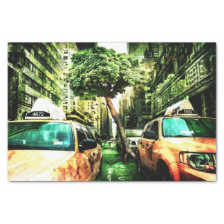 New York Apocalypse End of the World Tissue Paper
