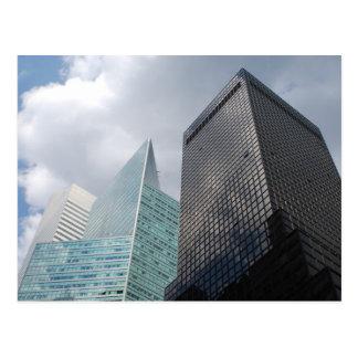 New York Architecture Postcard