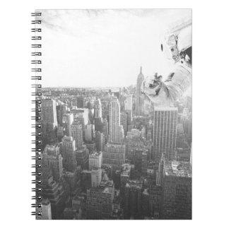 new york astronaut bw note books