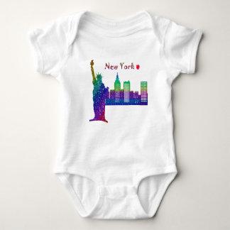 New York Baby Jersey Bodysuit