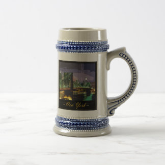 new-york beer stein