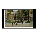 New York. Bowling Green. Pack Of Standard Business Cards
