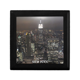 New York Box New Empire State Souvenir Jewelry Box