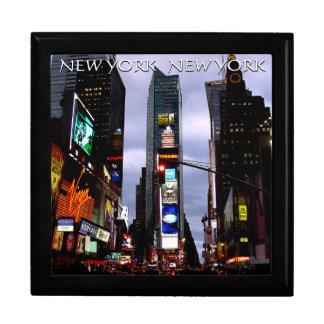 New York Box Times Square Souvenir NYC Jewelry Box