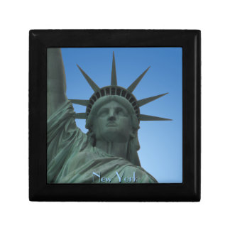 New York Boxes New York Giftbox Statue of Liberty Small Square Gift Box