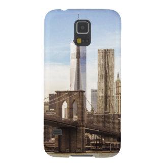 New York Brooklyn bridge Case For Galaxy S5