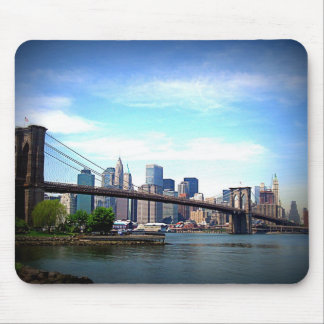New York - Brooklyn Bridge Mouse Pad