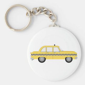 New York Cab Key Ring