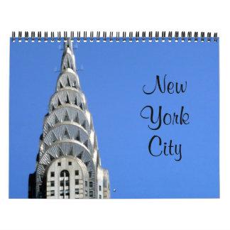 new york calendars