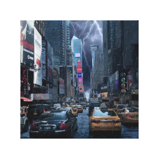 """New York"" Canvas"