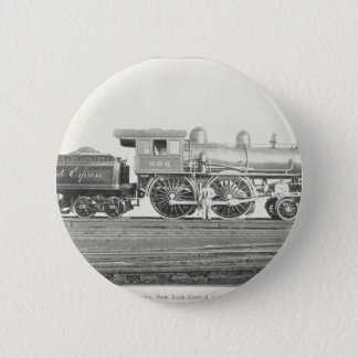 New York Central and Hudson River 6 Cm Round Badge