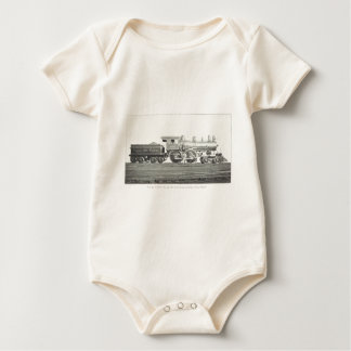 New York Central and Hudson River Baby Bodysuit
