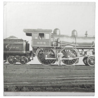 New York Central and Hudson River Napkin