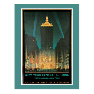 New York Central Building Postcard