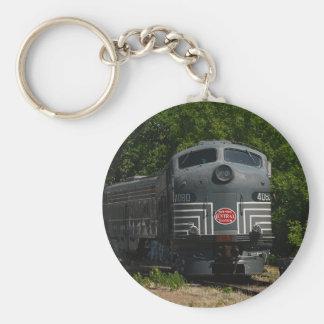 New York Central Locomotive Keychain