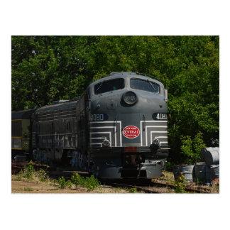 New York Central Locomotive Postcard