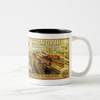 New York Central Two-Tone Coffee Mug