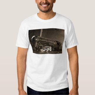 New York Central Vintage Art  Deco Train Tshirt
