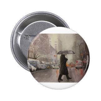 New York Chill 6 Cm Round Badge