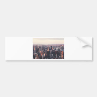 New York Chrysler Building NYC Bumper Stickers