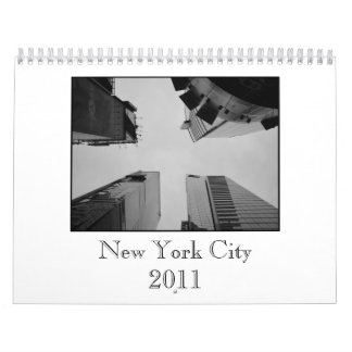 New York City 2011 Calender Wall Calendars