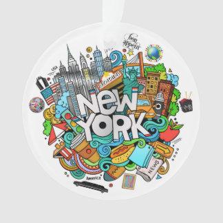 NEW YORK City 2 Ornament