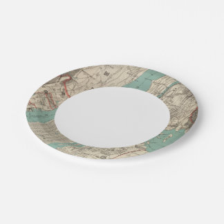 New York City 2 7 Inch Paper Plate