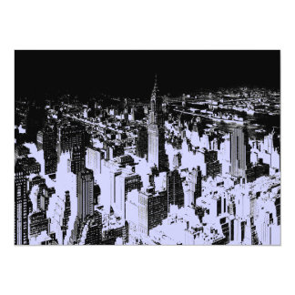 "New York City 5.5 x 6.5 Invitation 5.5"" X 7.5"" Invitation Card"