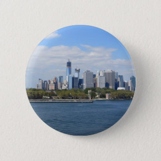 New York City 6 Cm Round Badge