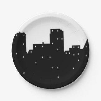 New York City 7 Inch Paper Plate