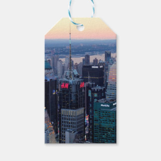 New York City Aerial View Gift Tags