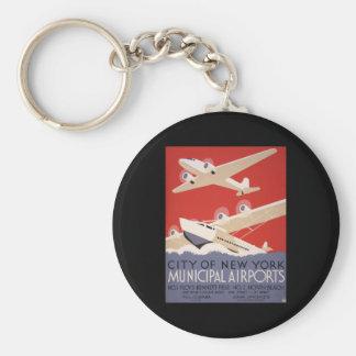 New York City airports Key Ring