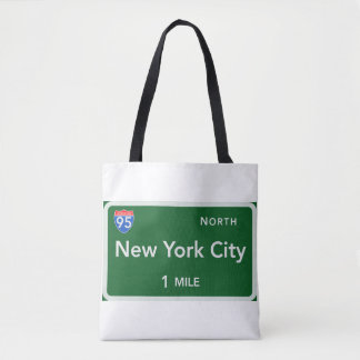 New York City All-Over-Print Tote Bag