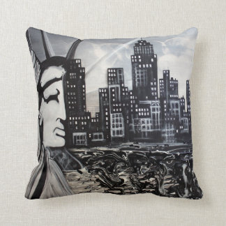New York City American MoJo Pillow