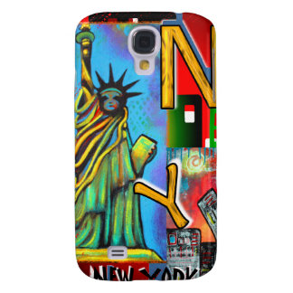 New York City Art Galaxy S4 Cover