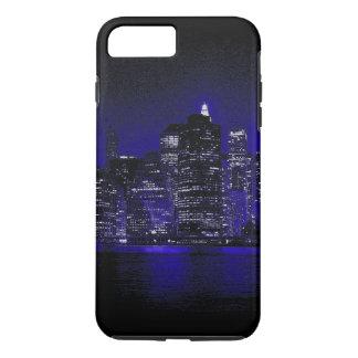 New York City At Blue Night iPhone 7 Plus Case