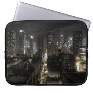 New York City at Night HDR Laptop Sleeve