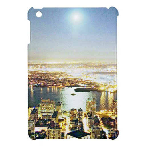 New York city At night Cover For The iPad Mini