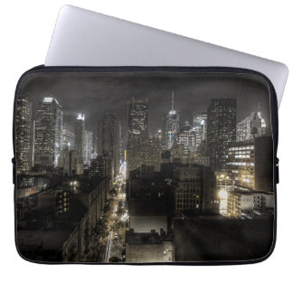 New York City at Night Laptop Computer Sleeve
