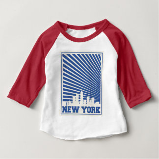 New York City Blue Baby T-Shirt