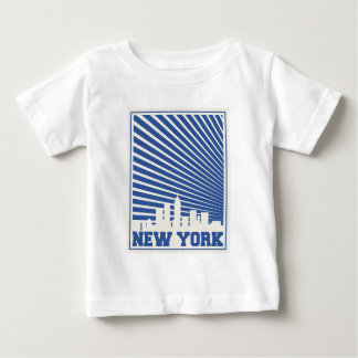 New York City Blue Baby T-Shirt