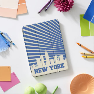New York City Blue iPad Air Cover
