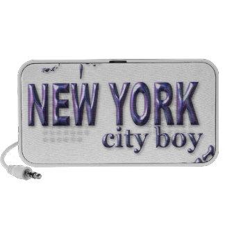 New York City Boy iPod Speaker