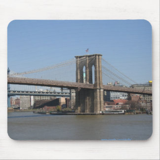 NEW YORK CITY, BROOKLYN BRIDGE MOUSEPAD