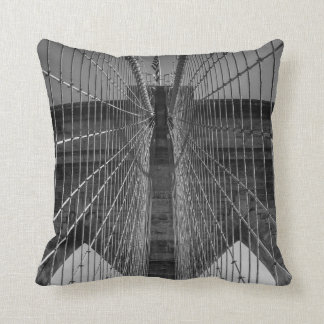 New York City Brooklyn Bridge & Skyline 2 Sided Cushion